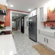 Red Kitchen White Cabinets Red Contemporary Kitchen Photos Hgtv
