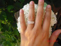 eternity ring finger ivana s antique style imitation diamond eternity ring 5