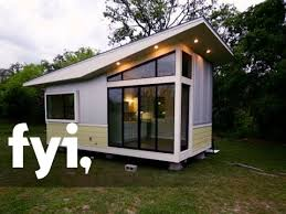 tiny house studio tiny house hunting less is more in a modern studio s2 e7 fyi