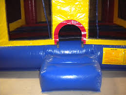 module bounce house with sports panel the moonbounce man