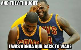 Kyrie Irving Memes - 31 best memes of lebron james kyrie irving torching the golden