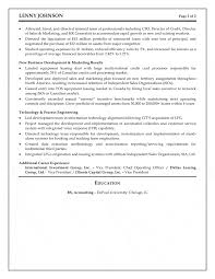 Coo Resume Examples by Executive Resume