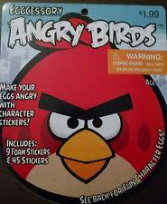 Angry Birds Easter Egg Decorating Kit by Angry Birds Easter Bonnet Ebay