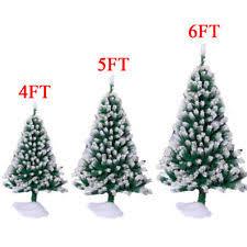 6ft christmas tree flocked christmas tree ebay