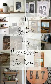 Home Diy Projects by 10 Rustic Diy Projects For The Home Bragworthy Thursday The