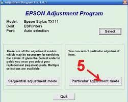 resetter epson r230 windows epson tx111 resetter software application