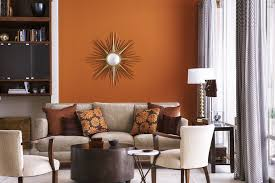 color home decor decorating with a warm color scheme