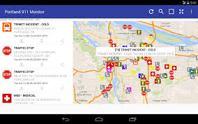 Portland Oregon Crime Map by Portland 911 Incidents Monitor Android Apps On Google Play