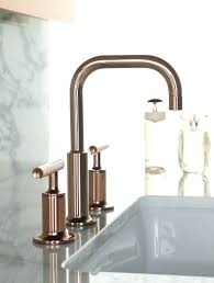 kohler gold faucet brushed gold tap and sink with marble work top