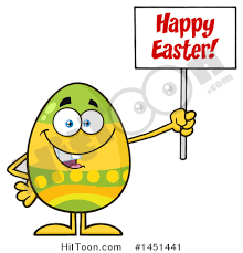 Decorated Easter Eggs Clip Art by Easter Egg Clipart 1451441 Cartoon Decorated Easter Egg Mascot