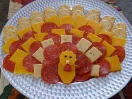 turkey cheese platter thanksgiving appetizer appetizers