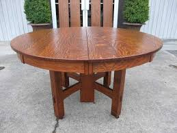 stickley dining room furniture for sale stickley bros arts crafts tiger oak dining table quaint furniture