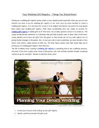 wedding gift not on registry calaméo your wedding gift registry things you should