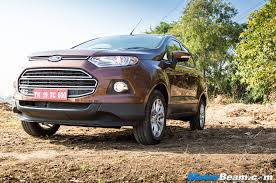 2016 ford ecosport test drive review motorbeam indian car bike