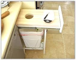 built in trash can cabinet modern kitchen trash can built in trash cans a commercial trash cans