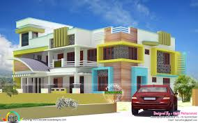 double storied multiple family house kerala home design and