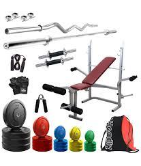 headly premium 90kg coloured home gym 14