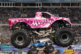 monster truck show nj raceway park madusa monster jam jpg 1280 852 monsters pinterest monster jam