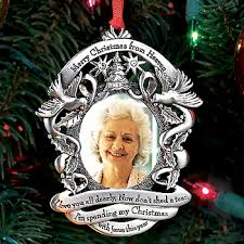 merry christmas from heaven merry christmas from heaven ornament with picture