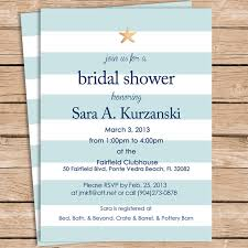 Make Your Own Bridal Shower Invitations Beach Bridal Shower Invitations Reduxsquad Com