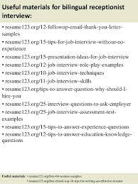 bilingual resume sample sample it recruiter resume bilingual