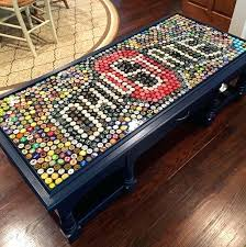 bottle cap table designs bottle cap coffee table exciting interior inspirations including