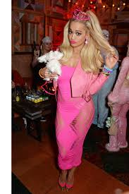 60 epic celebrity halloween costume ideas rita ora celebrity