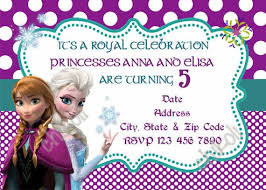 frozen birthday invites u2013 gangcraft net