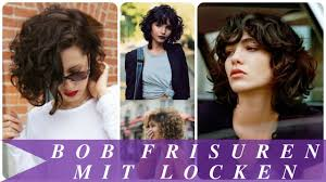 Bob Frisuren Locken Bilder by Bob Frisuren Mit Locken