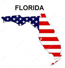 Usa States Map by Usa State Map Florida U2014 Stock Photo Pdesign 1768524