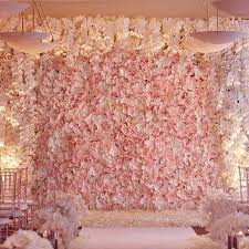 wedding event backdrop 4 pcs blush silk hydrangea flower mat wall backdrop photography