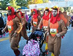 turkey trot 5k at lake eola puts runners in calorie deficit before