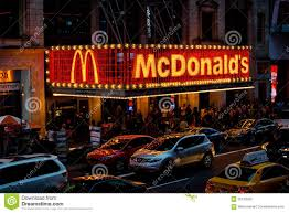 New York Times Travel by New York Times Square Mcdonalds Editorial Image Image 56133550