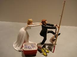 fishing wedding cake toppers pictures on wedding cake toppers fishing wedding ideas