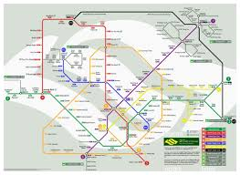 Fallout 3 Metro Map by Click To See Future Mrt System Map To Be Confirmed Singapore