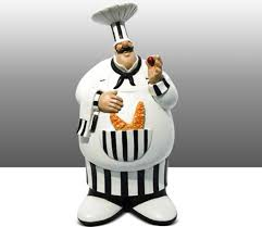 fat chef kitchen decor holst us chef statue for kitchen bon appetit chef statue large african