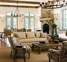 Best Living Spaces Images On Pinterest Living Spaces - Cottage style family room