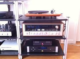 Homemade Stereo Cabinet My New Diy Audio Stand Steve Hoffman Music Forums