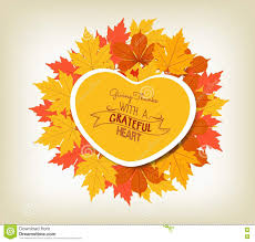 Thanksgiving Leaf Template Vector Give Thanks With A Grateful Heart Happy Thanksgiving Day