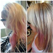 color and haircut adjustment big time before and after cool
