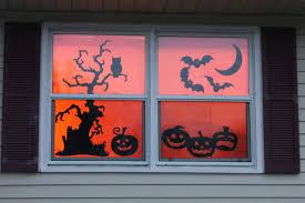ultimate halloween decorations garage door silhouette loversiq