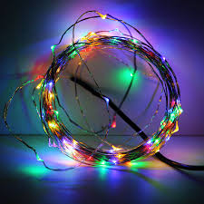 33ft 100leds led wire string lights starry starry lights w