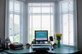 katie u0027s stylish home office makes the dream a reality web blinds
