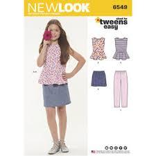 dress pattern brands new look simplicity