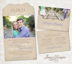 i love the tri fold wedding invites too cute he stole my heart