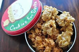 butterscotch or peanut butter corn flake cookies 12 weeks of