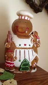 Spode Christmas Tree Santa Cookie Jar by Gingerbread Cookie Jar Santa U0027s Private Stash Pinterest