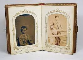 antique photo album antique photo album w 26 cdv and tintype photos i
