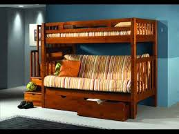 wood bunk beds wooden bunk beds double bottom youtube