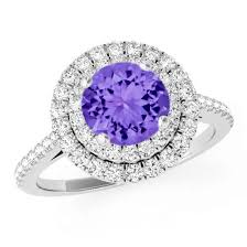 White Gold Wedding Rings For Women by Tanzanite Engagement Rings For Women Tanzanite Wedding Rings For